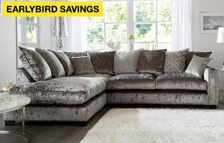 a4dd762e86 Dynasty Pillow Back Right Hand Facing Arm 3 Seat Corner Sofa